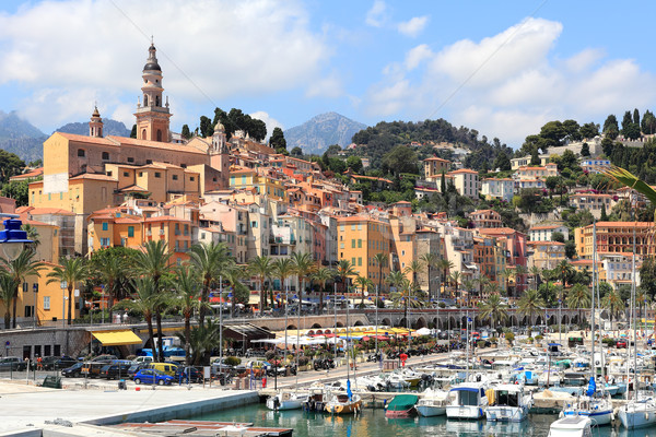 Old town. Menton, France. Stock photo © rglinsky77