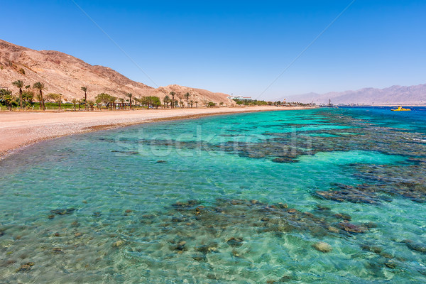 Beautiful shoreline in Eilat, Israel. Stock photo © rglinsky77