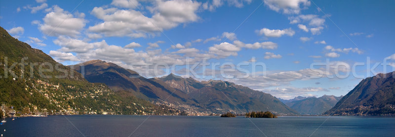 Panoramic view on Lake Maggiore. Stock photo © rglinsky77