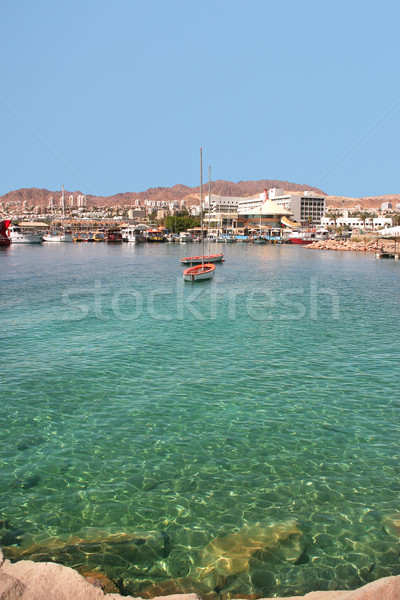 Stock photo: Bay of Eilat, Israel.