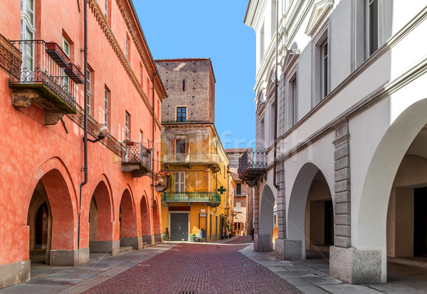 Urban view in Alba, Italy. Stock photo © rglinsky77
