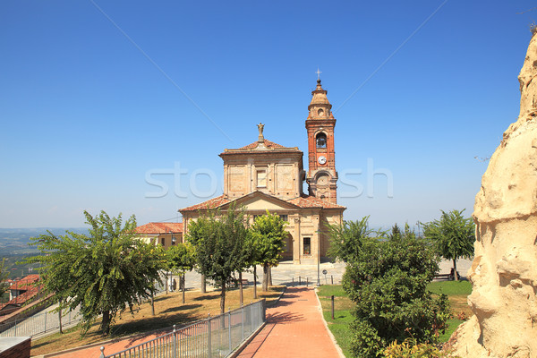 Old church in Diano D'Alba, Italy. Stock photo © rglinsky77