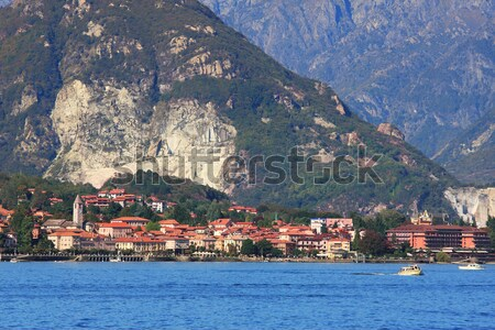 Lake Maggiore. Panorama. Stock photo © rglinsky77