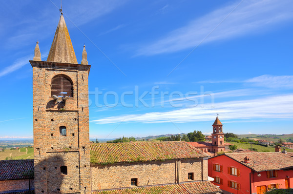 Old church in small italian town. Stock photo © rglinsky77