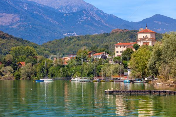озеро Италия мнение лет дерево Сток-фото © rglinsky77