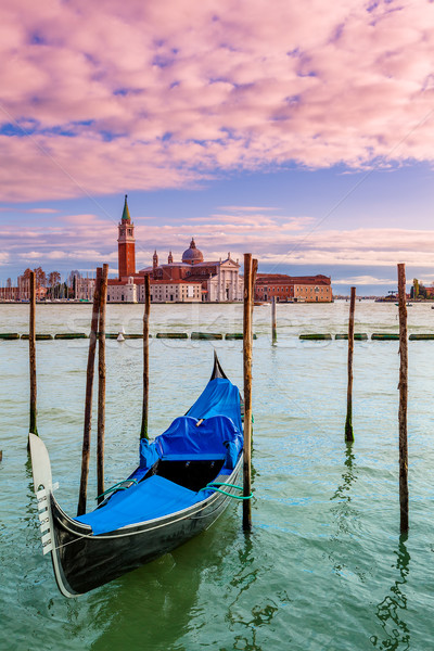 Gondola on Grand Canal in Venice, Italy. Stock photo © rglinsky77
