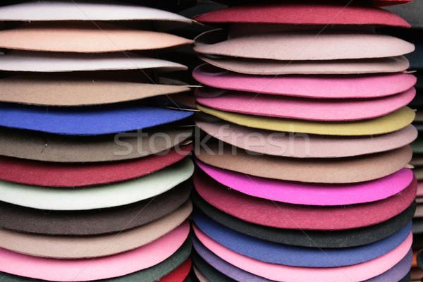 Seis feito à mão Panamá variedade Foto stock © rhamm