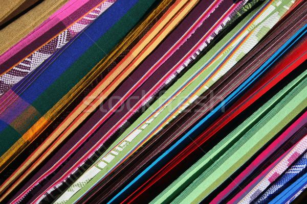 Abstrato maca padrões feito à mão venda ao ar livre Foto stock © rhamm