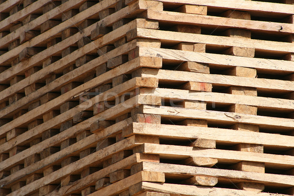 Lumber Drying in the Sun Stock photo © rhamm