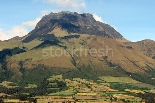 Mount Imbabura near Cotacachi Ecuador Stock photo © rhamm