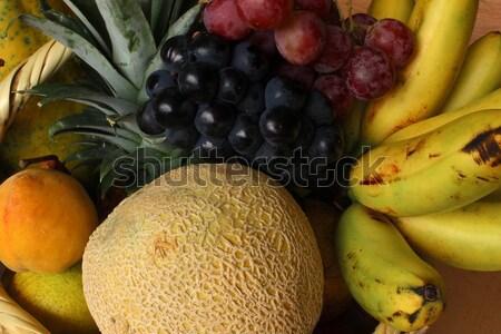 Grapes Melons and Bananas Stock photo © rhamm