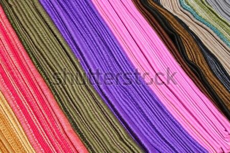 Bez renkli satış açık pazar Stok fotoğraf © rhamm