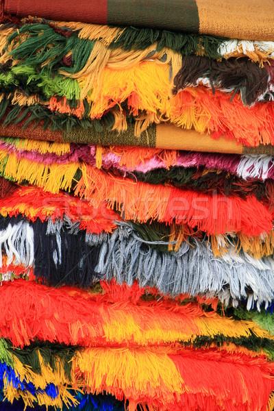 Colored Fringes Stock photo © rhamm