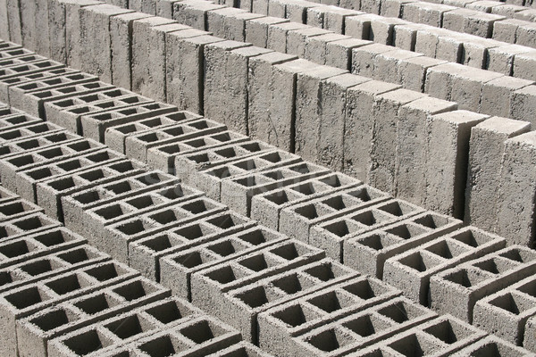 Bricks Drying in the Sun Stock photo © rhamm