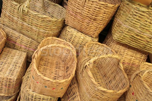 Pile of Baskets Stock photo © rhamm