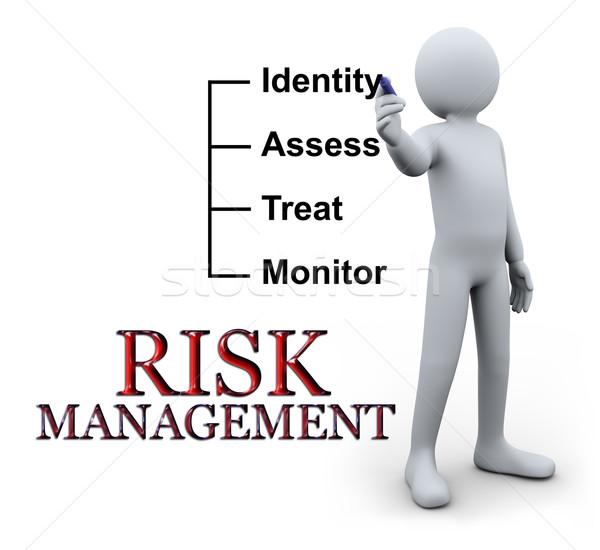 Сток-фото: 3d · человек · Дать · Управление · рисками · 3d · иллюстрации · человек · прозрачный