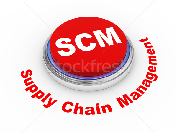 3D botón 3d suministrar cadena gestión Foto stock © ribah