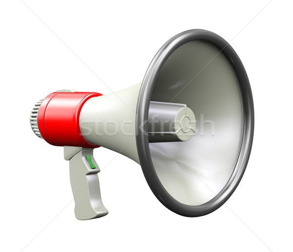 3d megaphone Stock photo © ribah