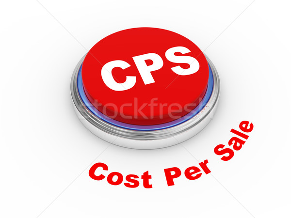 3d cps button Stock photo © ribah
