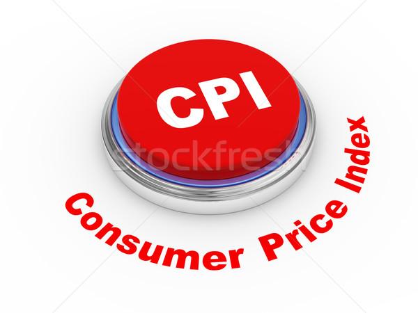 3D consumatore prezzo illustrazione 3d internet finanziaria Foto d'archivio © ribah
