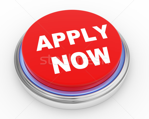 3d apply now button Stock photo © ribah