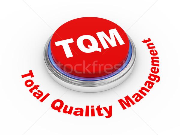 3D gomb 3d illusztráció minőség vezetőség üzlet Stock fotó © ribah