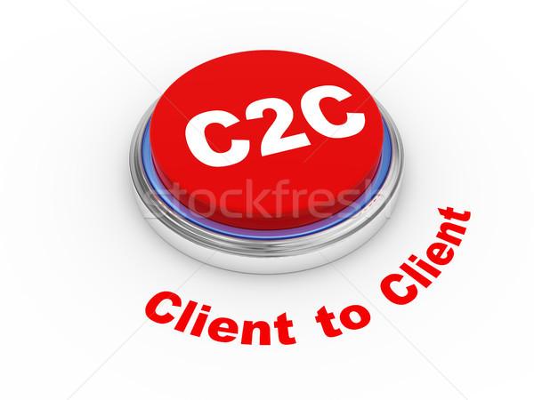 3d c2c button Stock photo © ribah