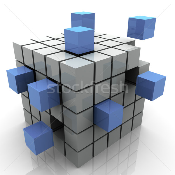 Abstract blocks Stock photo © ribah