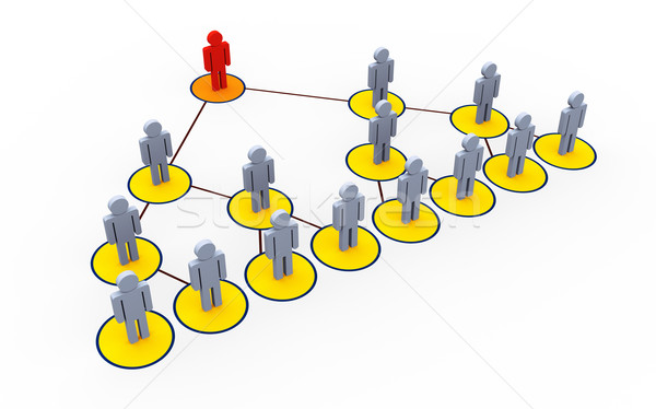 Multi level marketing Stock photo © ribah