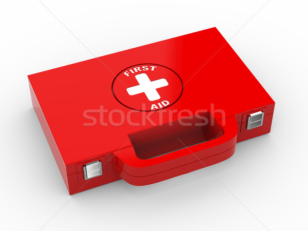 3d first aid medical kit Stock photo © ribah
