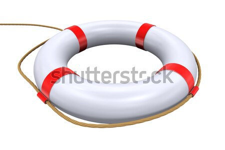 3d lifebuoy ring - lifesaver Stock photo © ribah