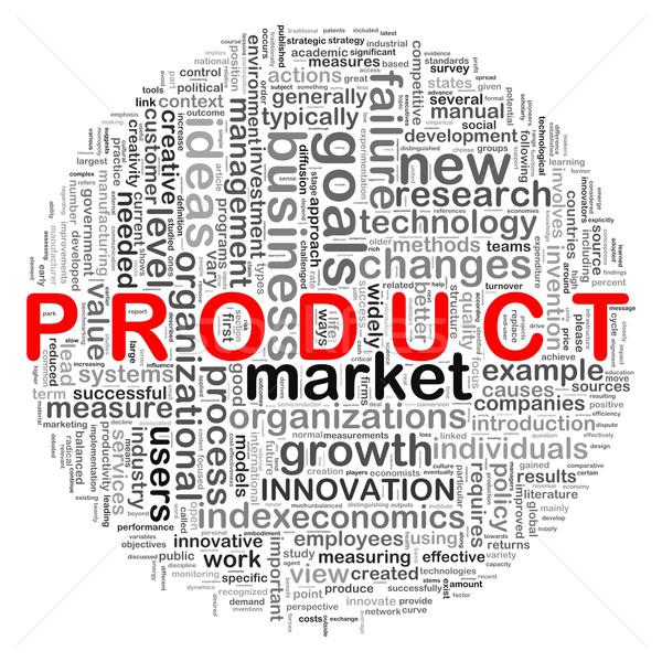 Circular design product word tags Stock photo © ribah
