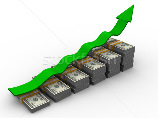 Stock photo: Growth of money