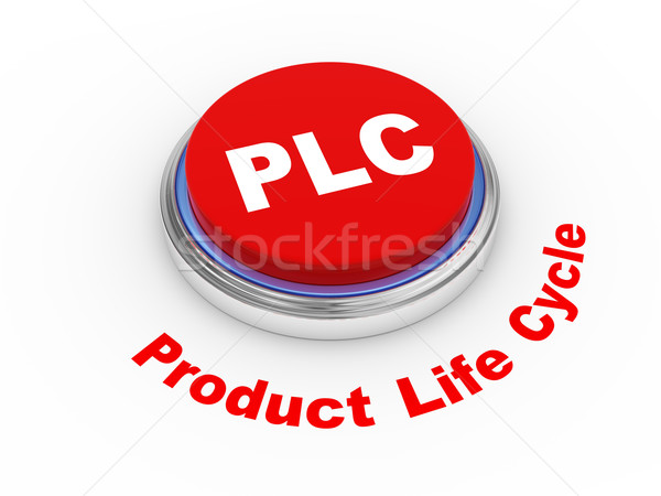 Сток-фото: 3D · кнопки · 3d · иллюстрации · продукт · жизни · цикл