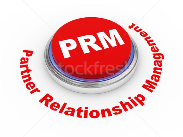 3d prm button Stock photo © ribah