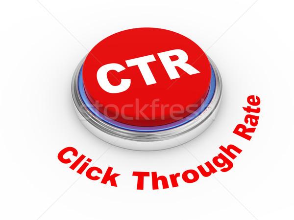 3d ctr button Stock photo © ribah