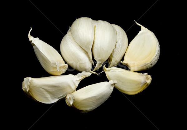 Garlic heads and Cloves Stock photo © ribeiroantonio