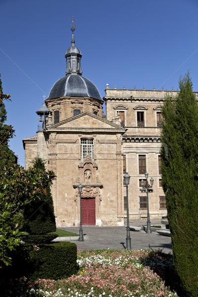 Salamanca Church of San Sebastian Stock photo © ribeiroantonio