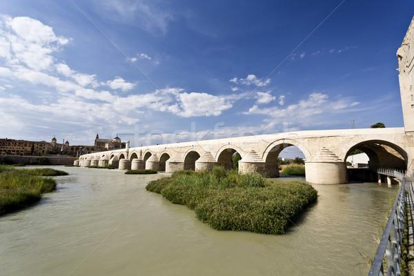 Stock photo: Cordoba Roman Bridge