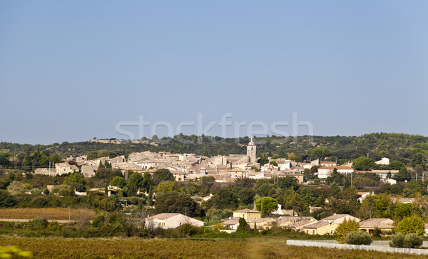 France Country Village Stock photo © ribeiroantonio