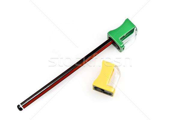 Pencil and Sharpeners Stock photo © ribeiroantonio