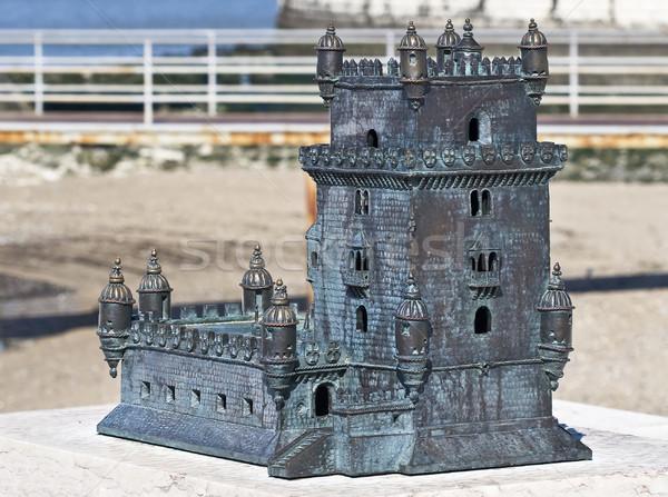 Toren miniatuur venster unesco wereld erfgoed Stockfoto © ribeiroantonio