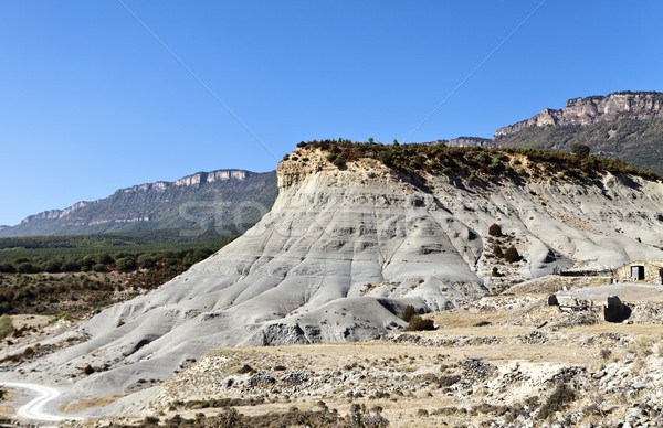 View of the Spanish Pyrenees Mountains Stock photo © ribeiroantonio