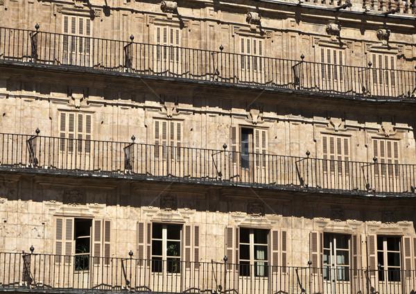 Salamanca Plaza Mayor Stock photo © ribeiroantonio