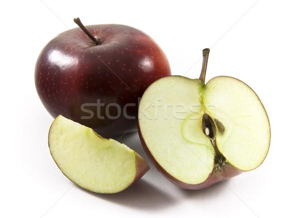 赤 リンゴ リンゴ 全体 健康 ストックフォト © ribeiroantonio