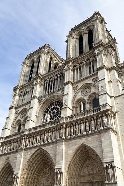 パリ ゴシック ローマ カトリック教徒 大聖堂 ストックフォト © ribeiroantonio