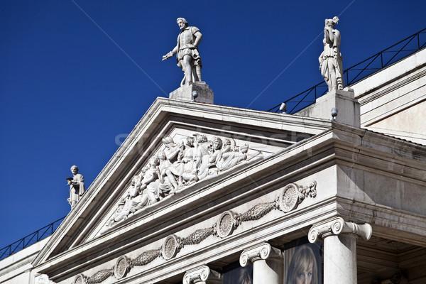 Pediment and Tympanum Stock photo © ribeiroantonio