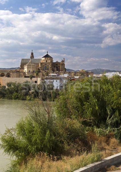 表示 南 銀行 川 スペイン アーキテクチャ ストックフォト © ribeiroantonio