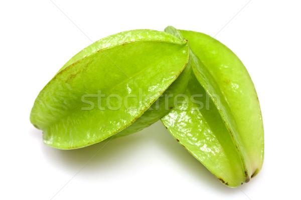 フルーツ を実行して ダウン 星 緑 熱帯 ストックフォト © ribeiroantonio
