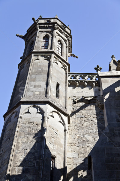 Carcassonne Basilica of St. Nazaire and St. Celse Stock photo © ribeiroantonio